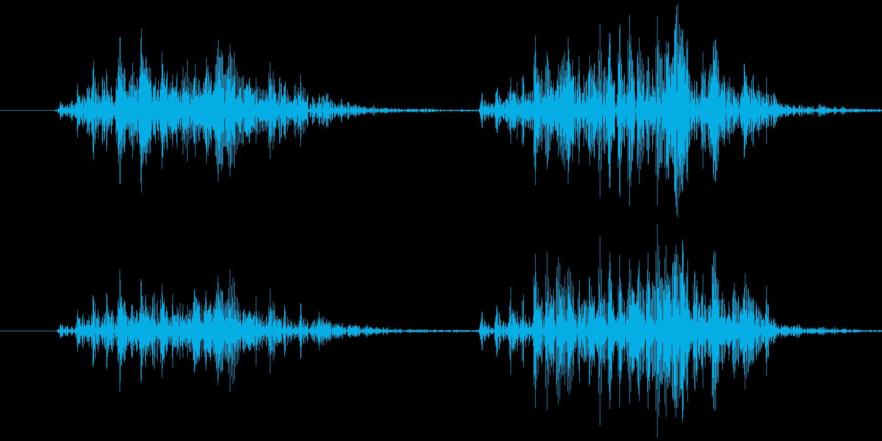 スマイルハンマー ビヨッ(強め)の再生済みの波形