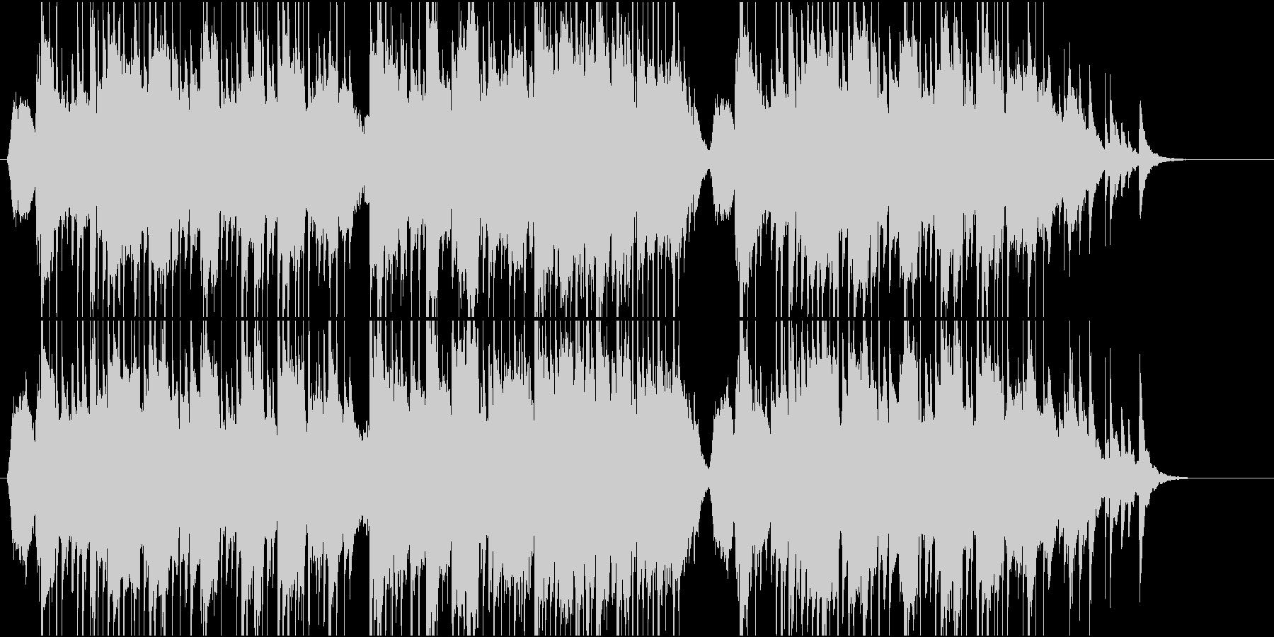 和風なポップ の未再生の波形
