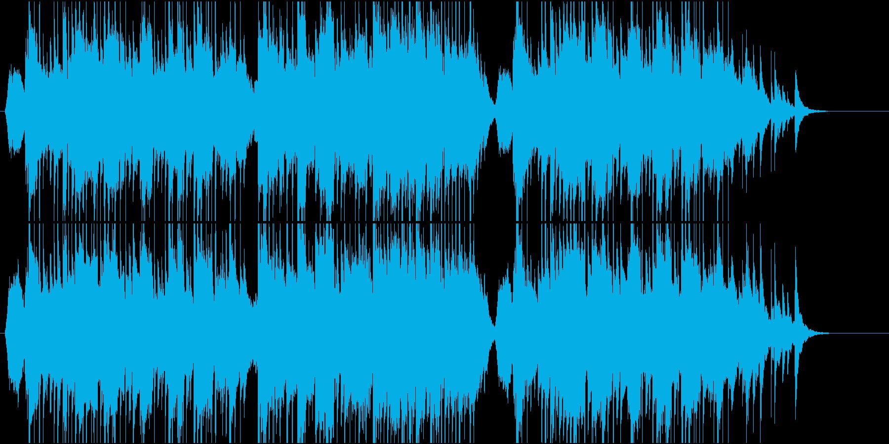 和風なポップ の再生済みの波形