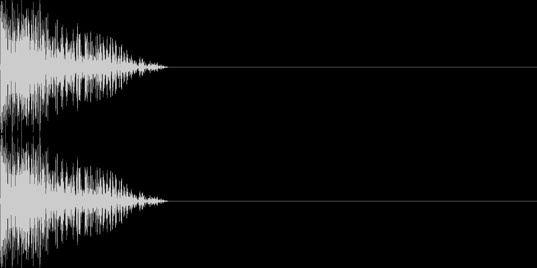攻撃音07(重規模の銃)の未再生の波形