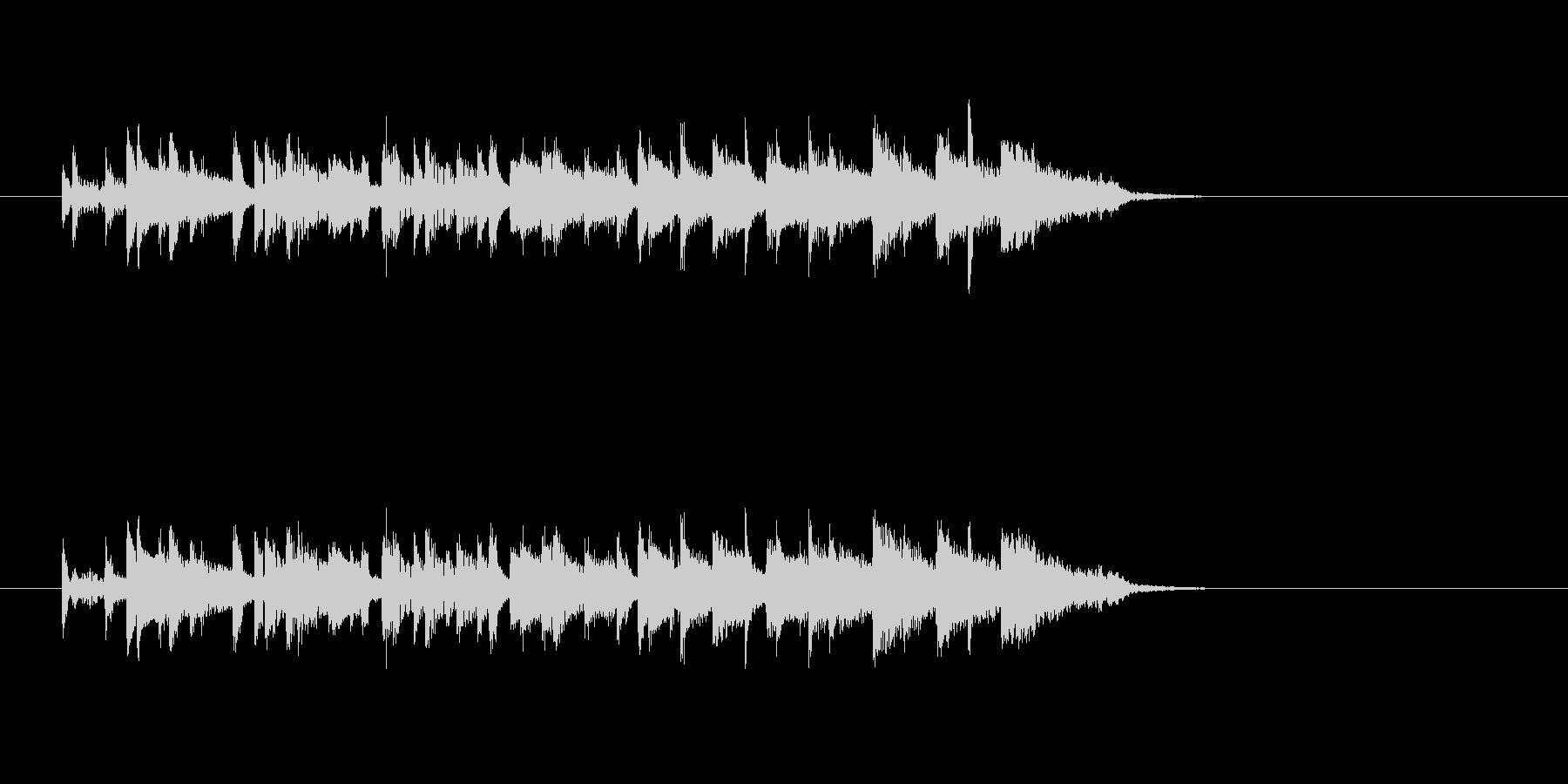 ポップ 民族楽器 明るい わくわくの未再生の波形