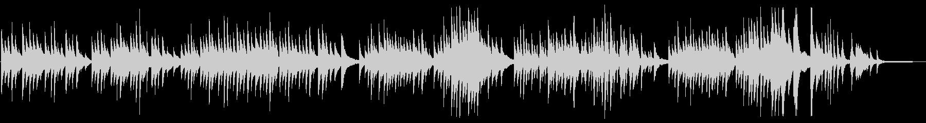 送辞に合うピアノが訴えかけるBGMの未再生の波形