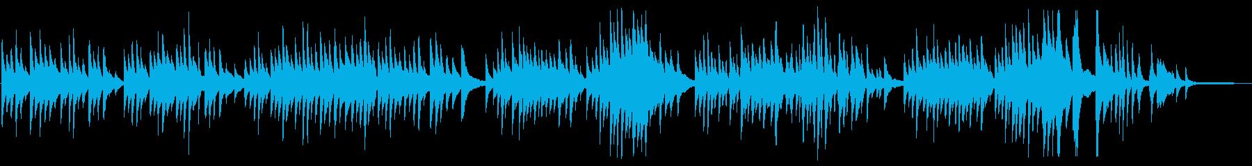 送辞に合うピアノが訴えかけるBGMの再生済みの波形