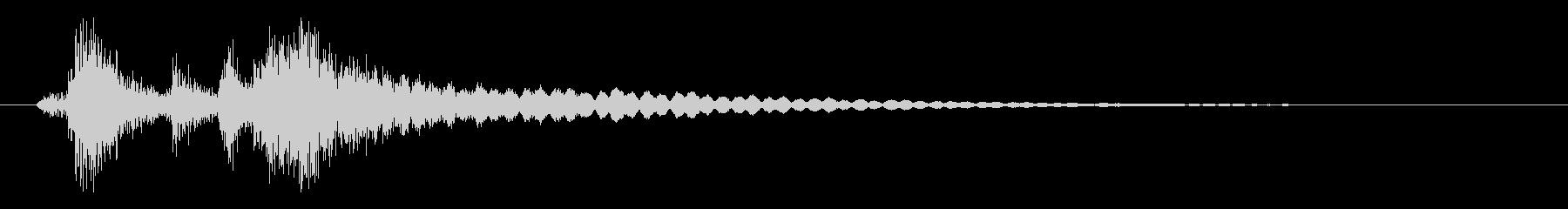 レジの音_チーン_01の未再生の波形
