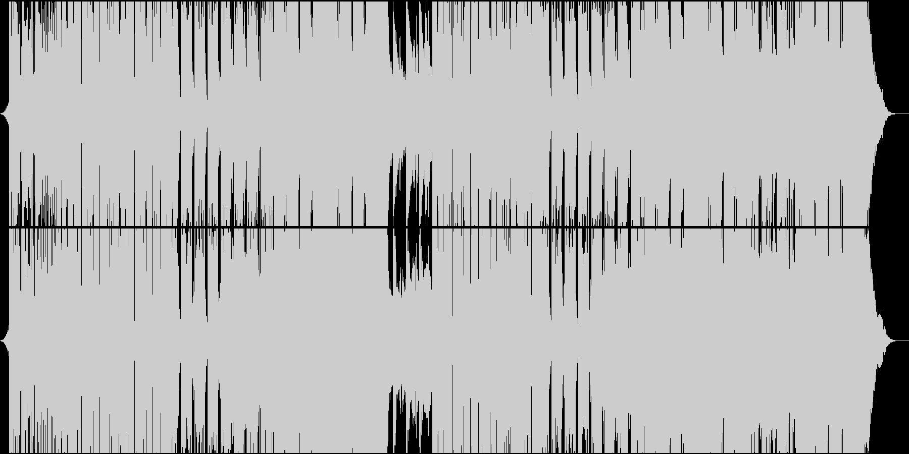 琴で奏でるR&B系Future Bassの未再生の波形