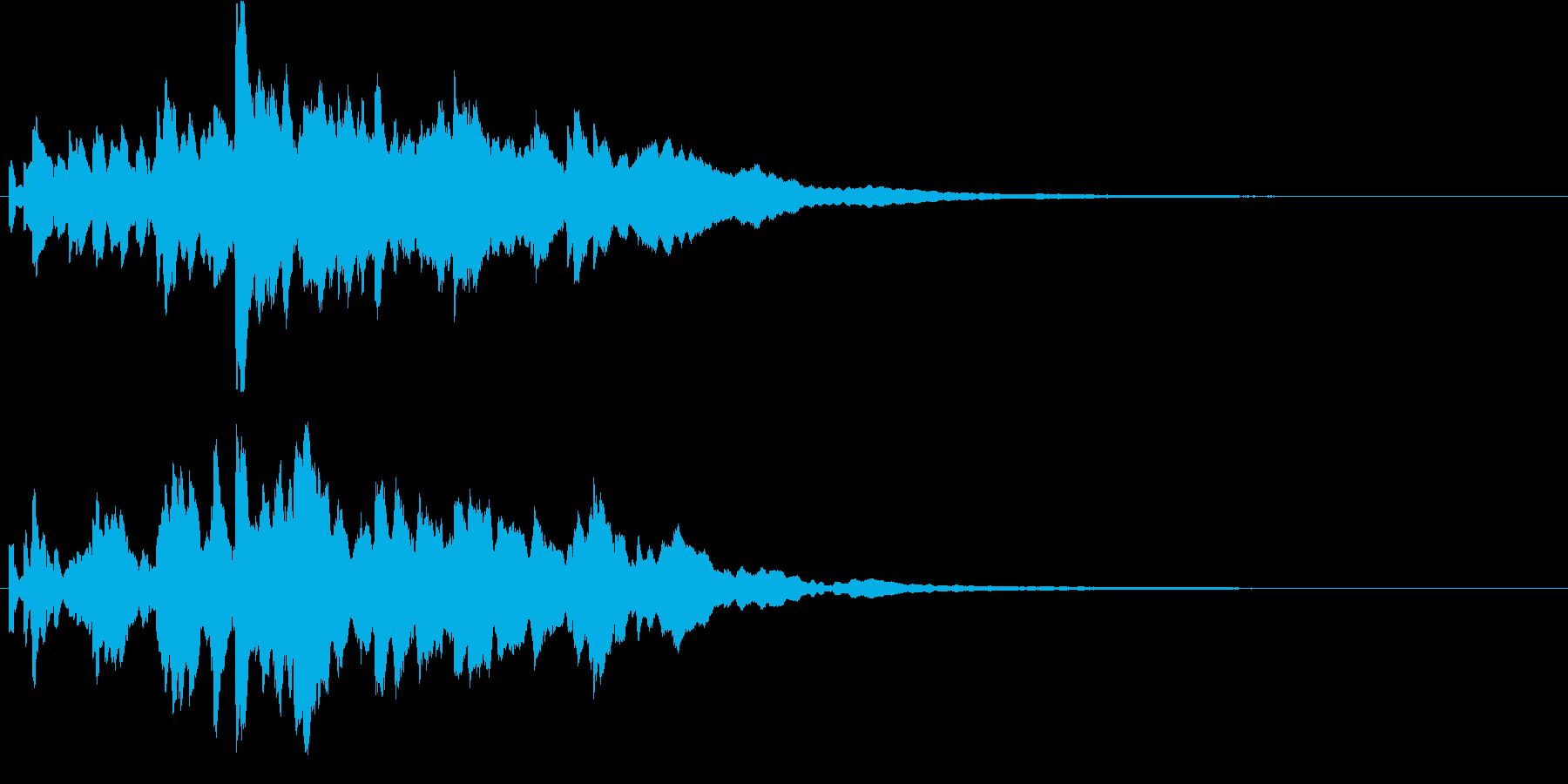 効果音  キラキラ 1の再生済みの波形