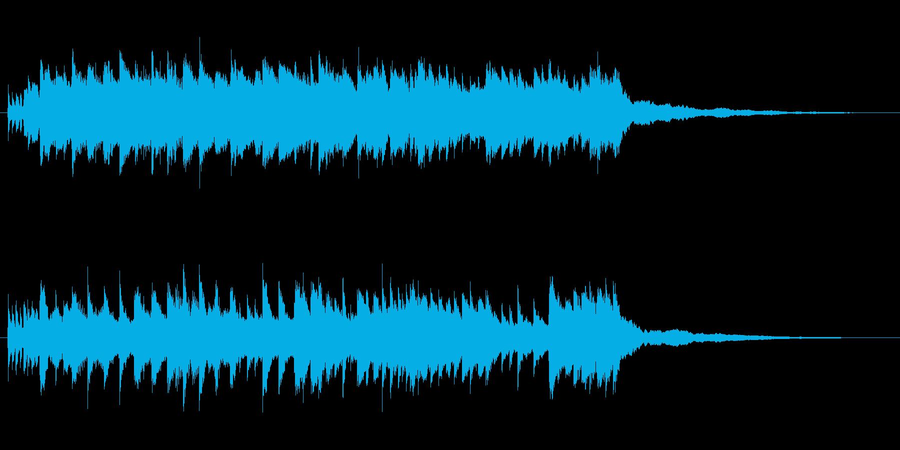 ピアノBGM50秒-幸せ、ぬくもり、感動の再生済みの波形