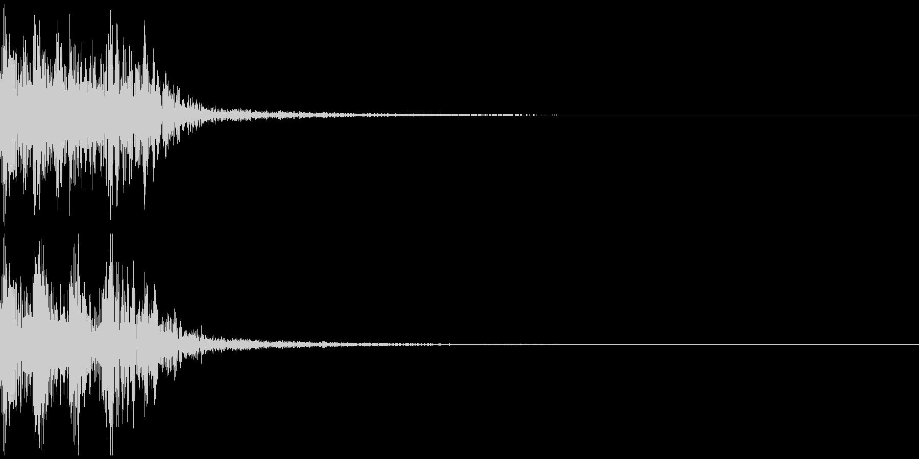 プルル レベルアップ アイテムゲットの未再生の波形