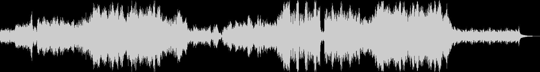 【旧版】オーケストラの感動的なバラードの未再生の波形