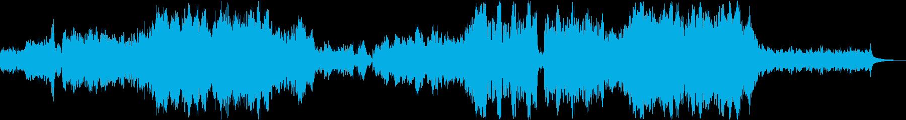 【旧版】オーケストラの感動的なバラードの再生済みの波形