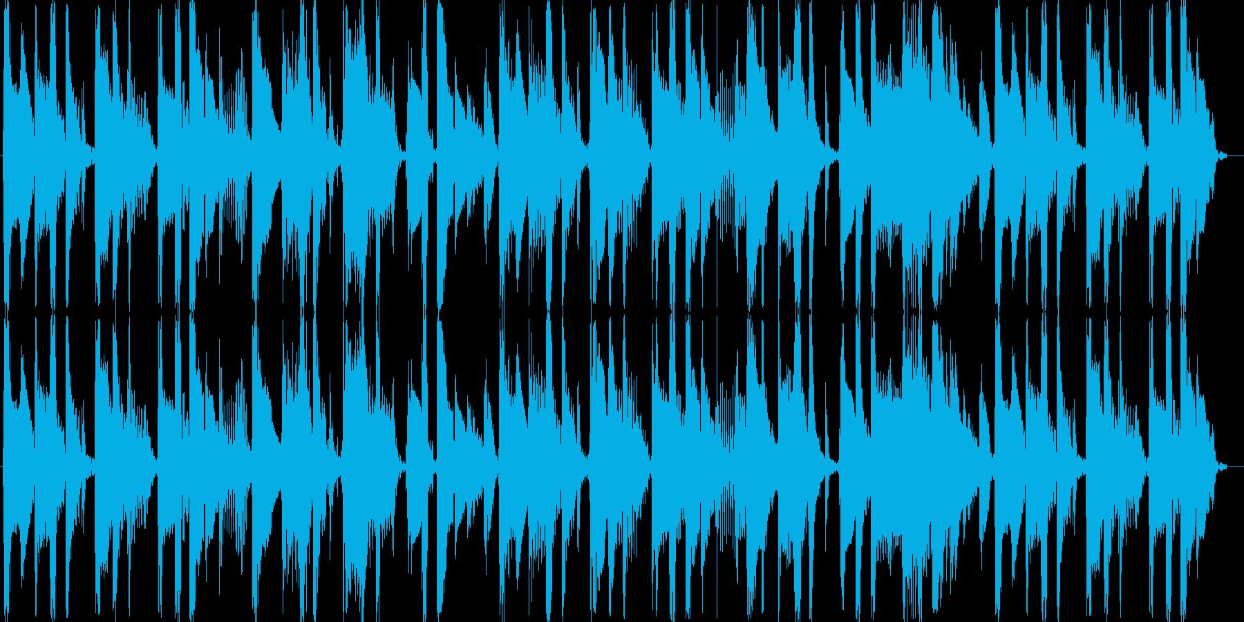 Funkyサウンドの再生済みの波形