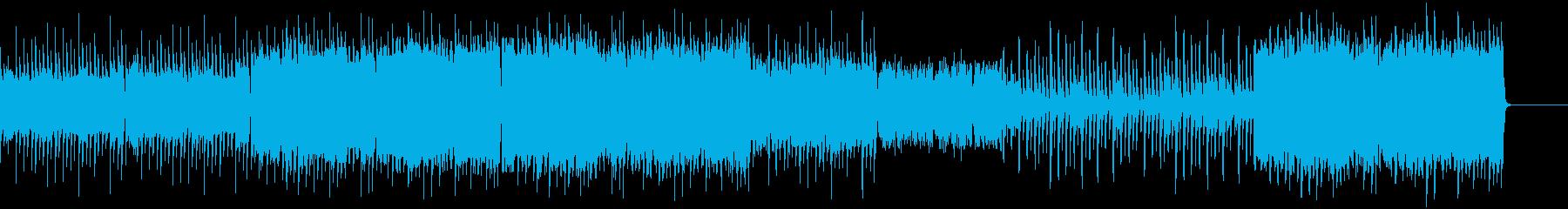 透明感のある音に元気づけられますよ!の再生済みの波形