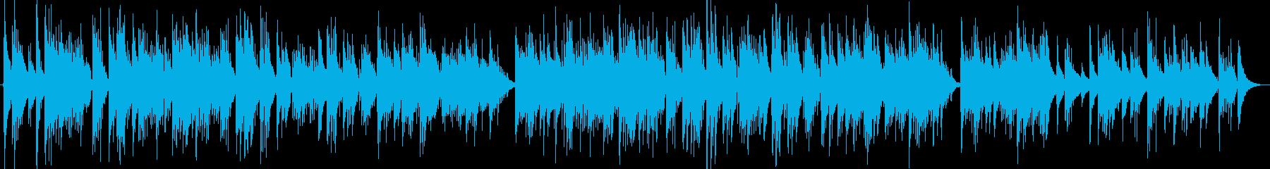 爽やかバラードの再生済みの波形