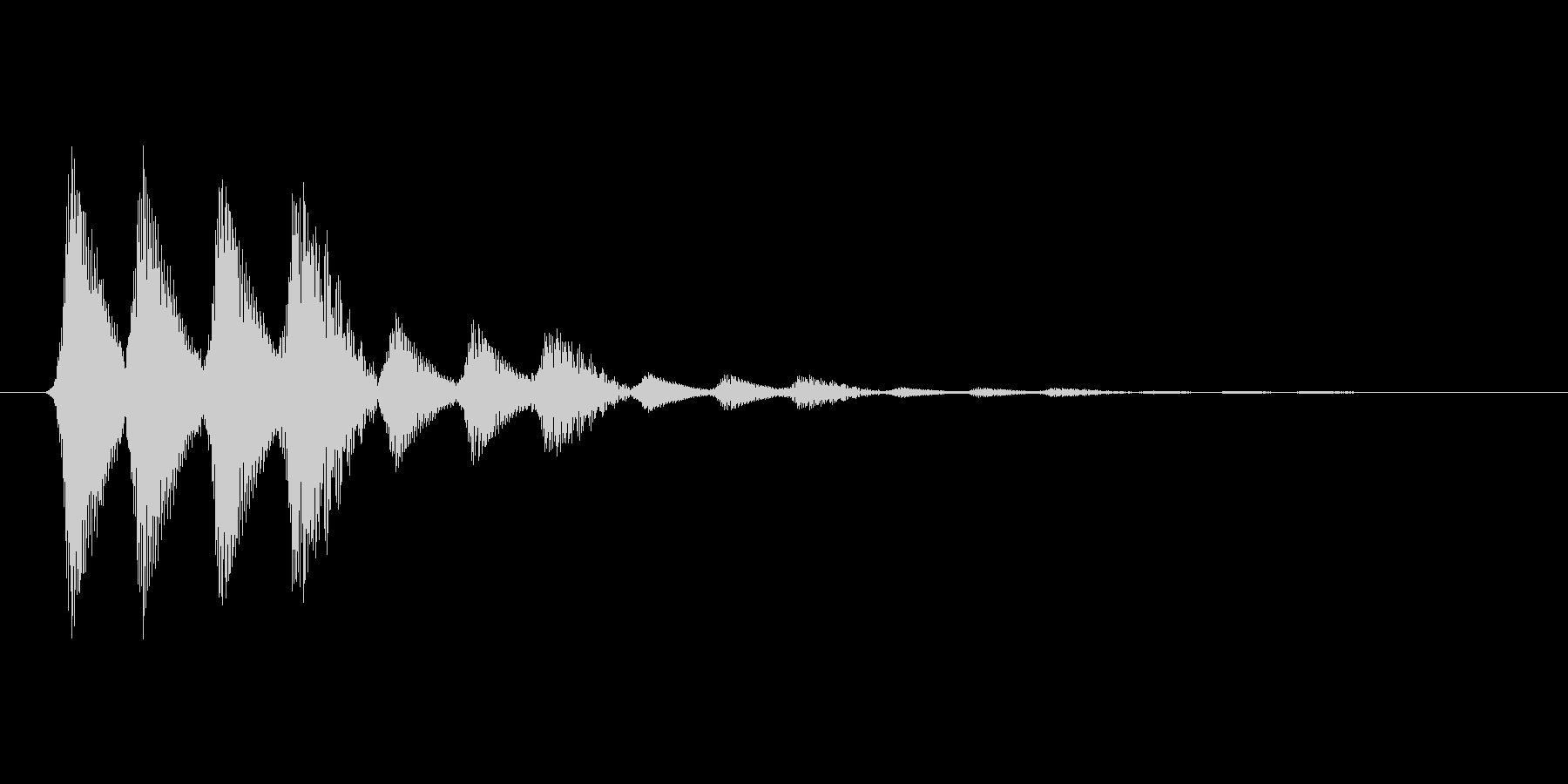 ファミコン風効果音 キャンセル系 11の未再生の波形