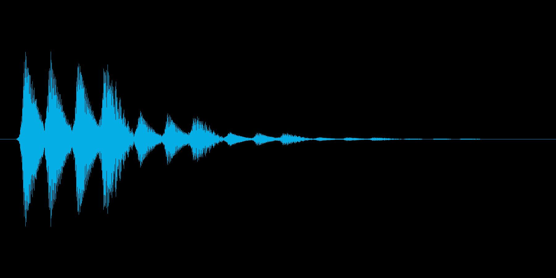 ファミコン風効果音 キャンセル系 11の再生済みの波形