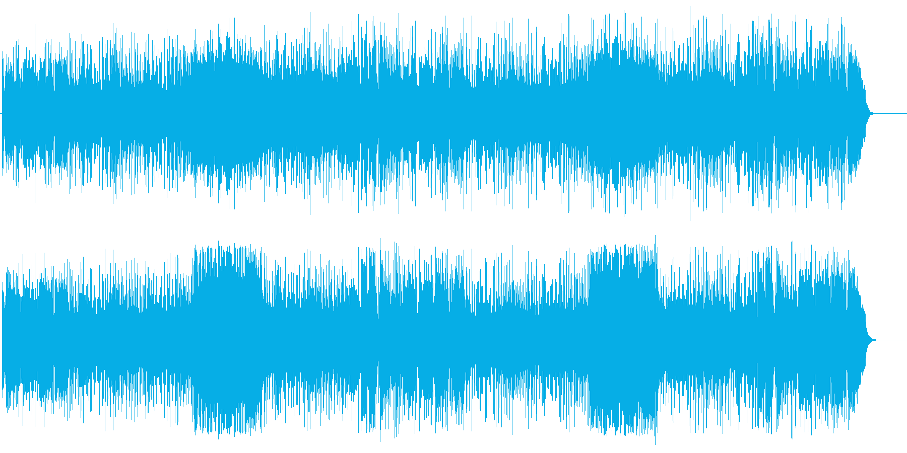 かわいらしいロンド、コミュニケーションの再生済みの波形