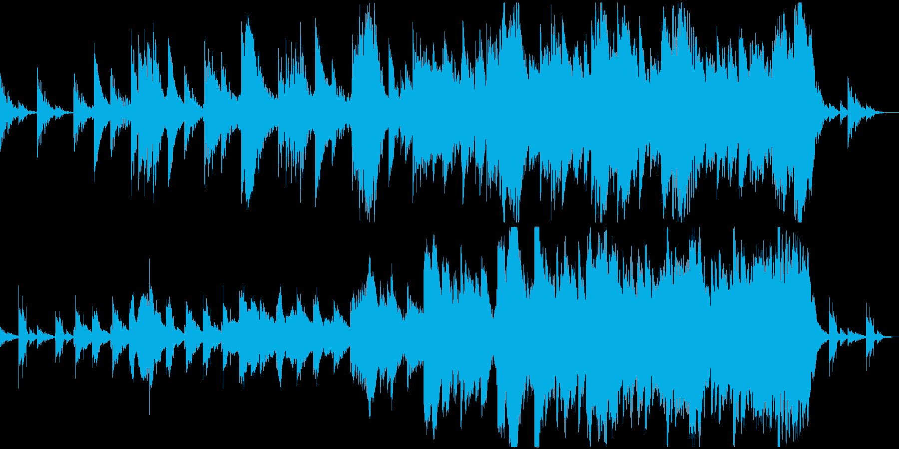 妖しく不思議な鐘のBGMの再生済みの波形