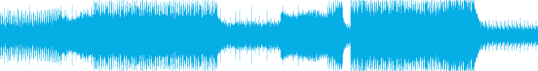 結婚行進曲のBGM向けポップアレンジですの再生済みの波形