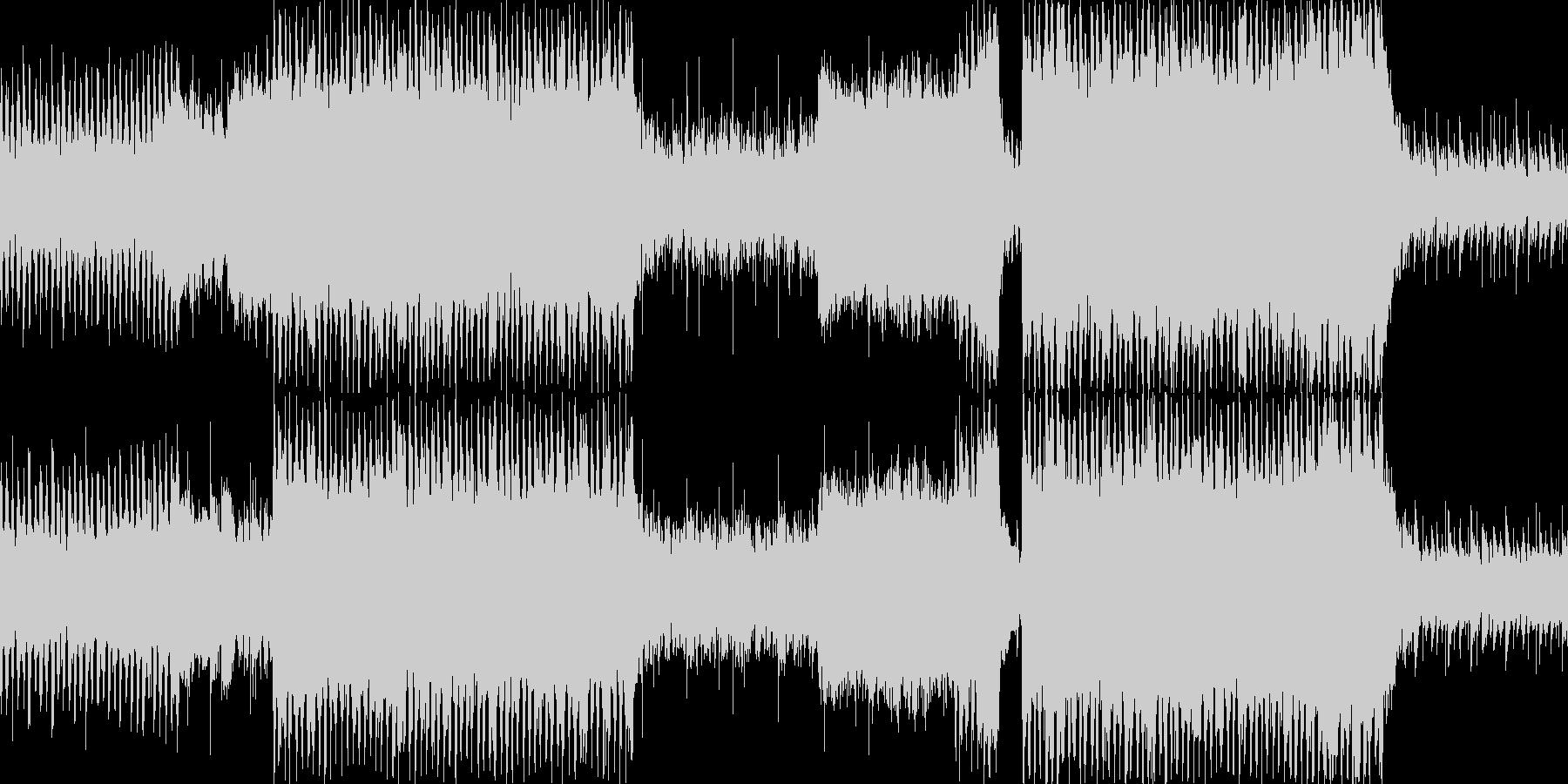 結婚行進曲のBGM向けポップアレンジですの未再生の波形