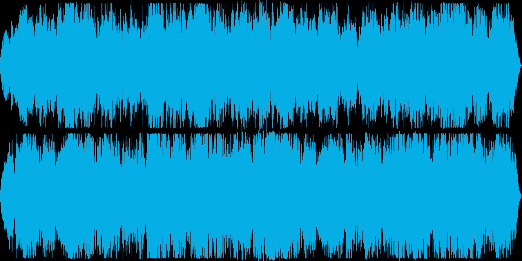 洞窟や魔界などの闇属性に合う楽曲です。の再生済みの波形