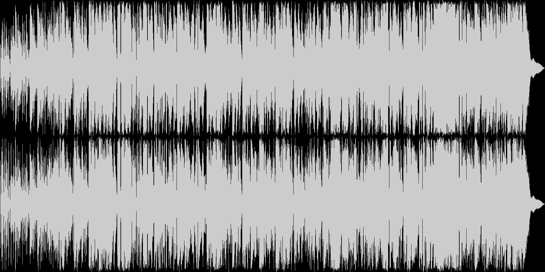 美しく優しいトランペットボサノヴァの未再生の波形