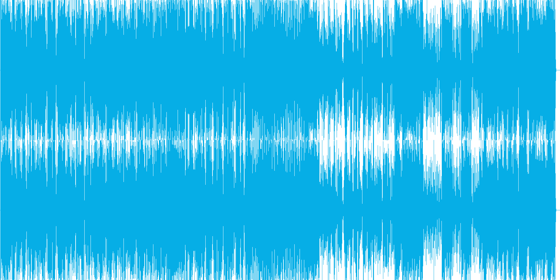 疾走感のあるジャズ ピアノトリオ3の再生済みの波形