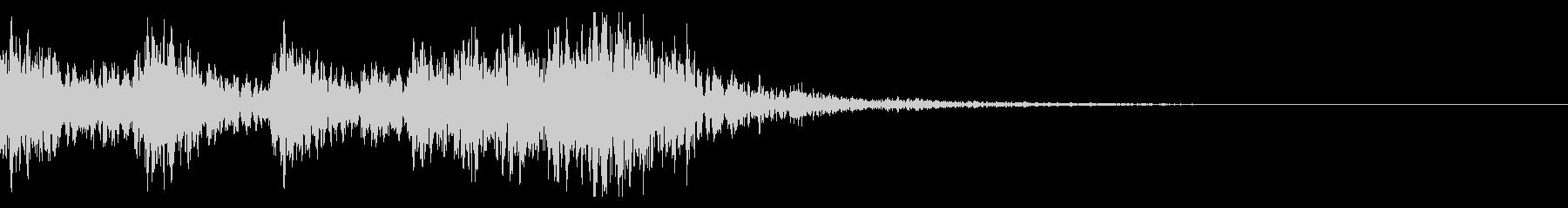 太鼓 和太鼓フレーズ ジングル ロゴ26の未再生の波形