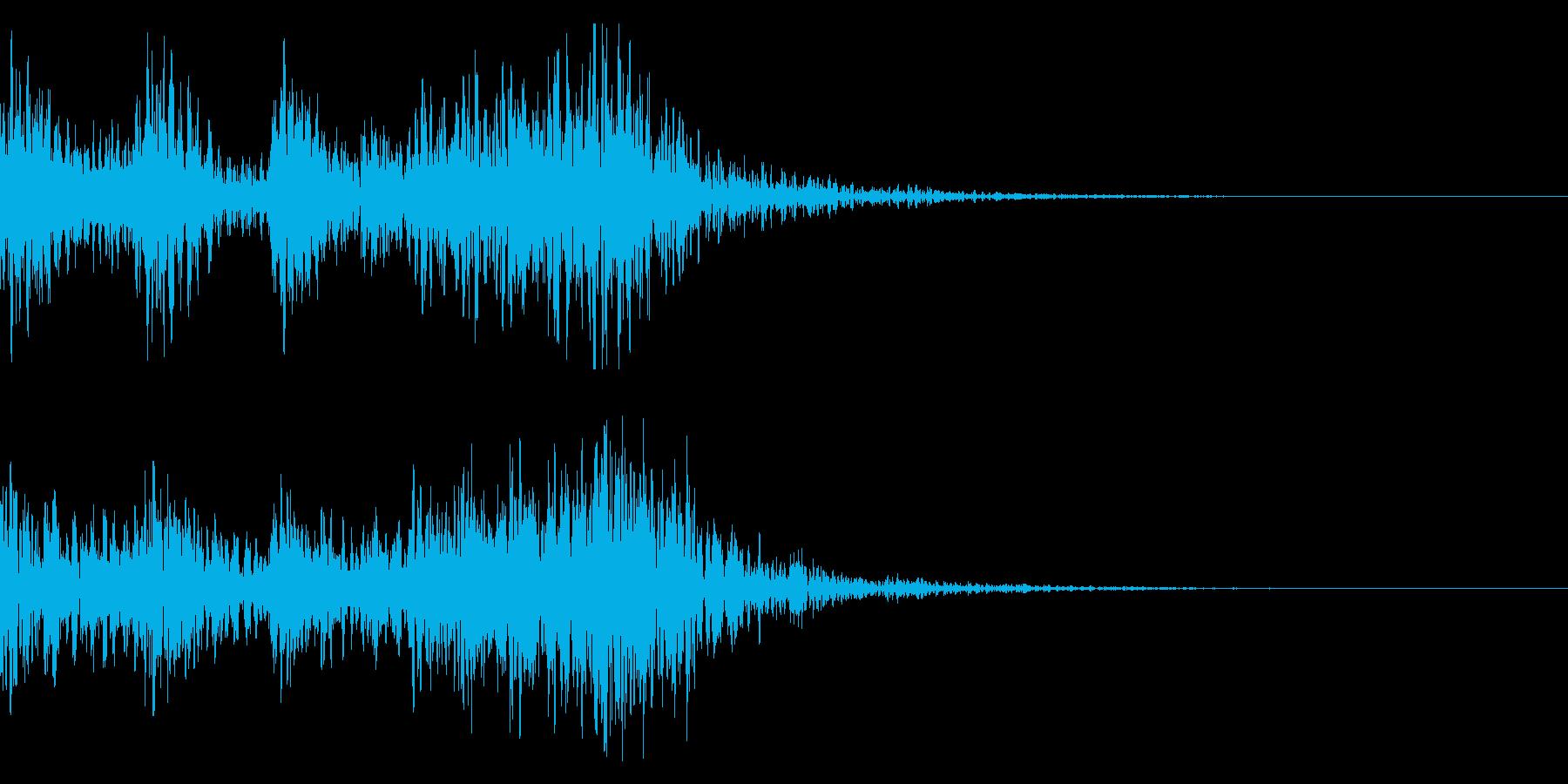 太鼓 和太鼓フレーズ ジングル ロゴ26の再生済みの波形