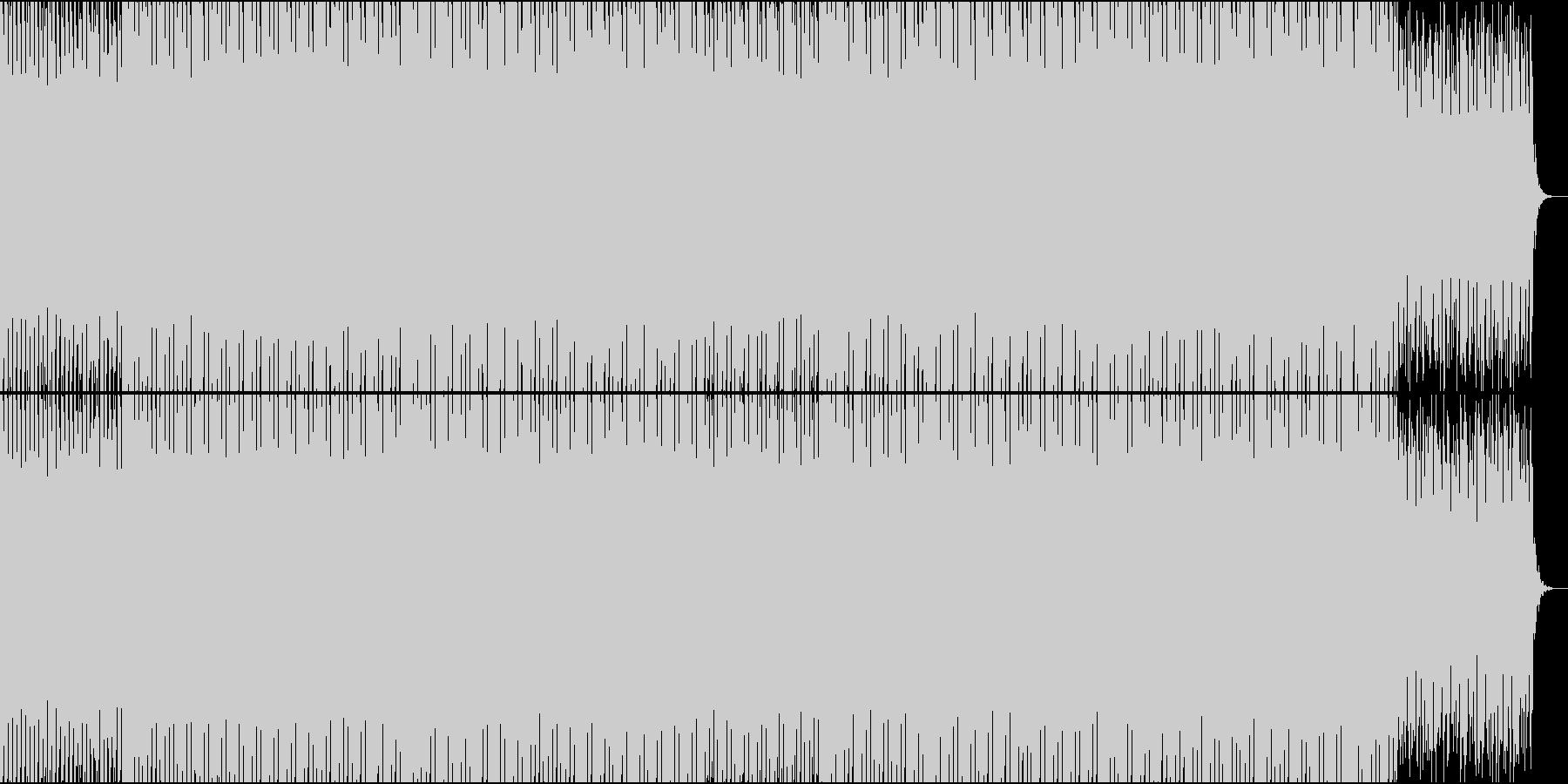 EDMクラブ系、製品紹介、商品紹介-07の未再生の波形