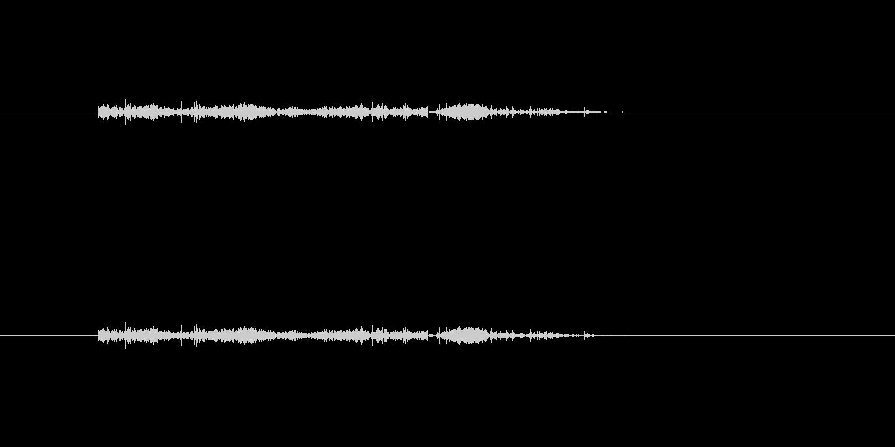 準備音の未再生の波形