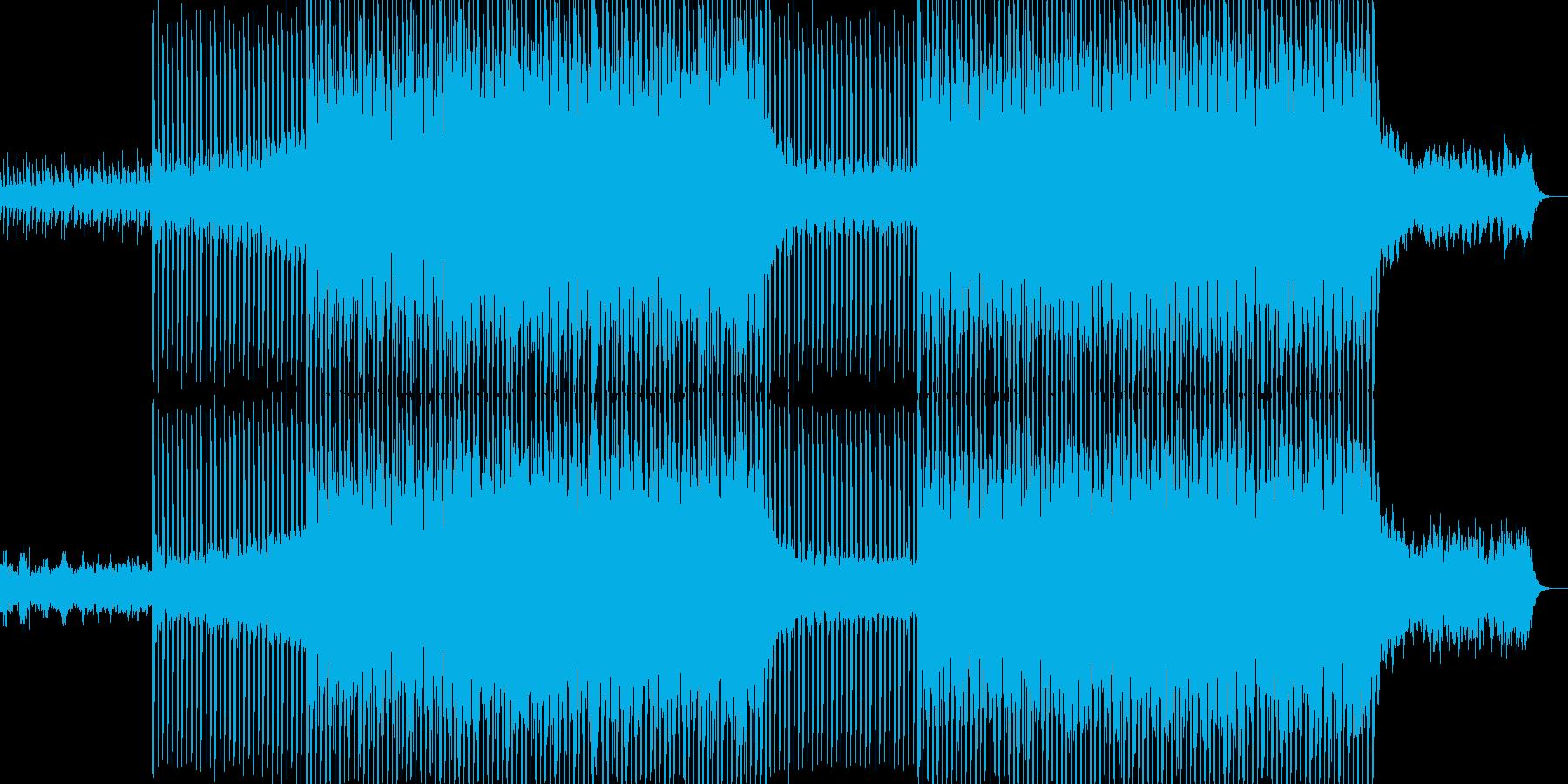 EDMクラブ系ダンスミュージック-31の再生済みの波形