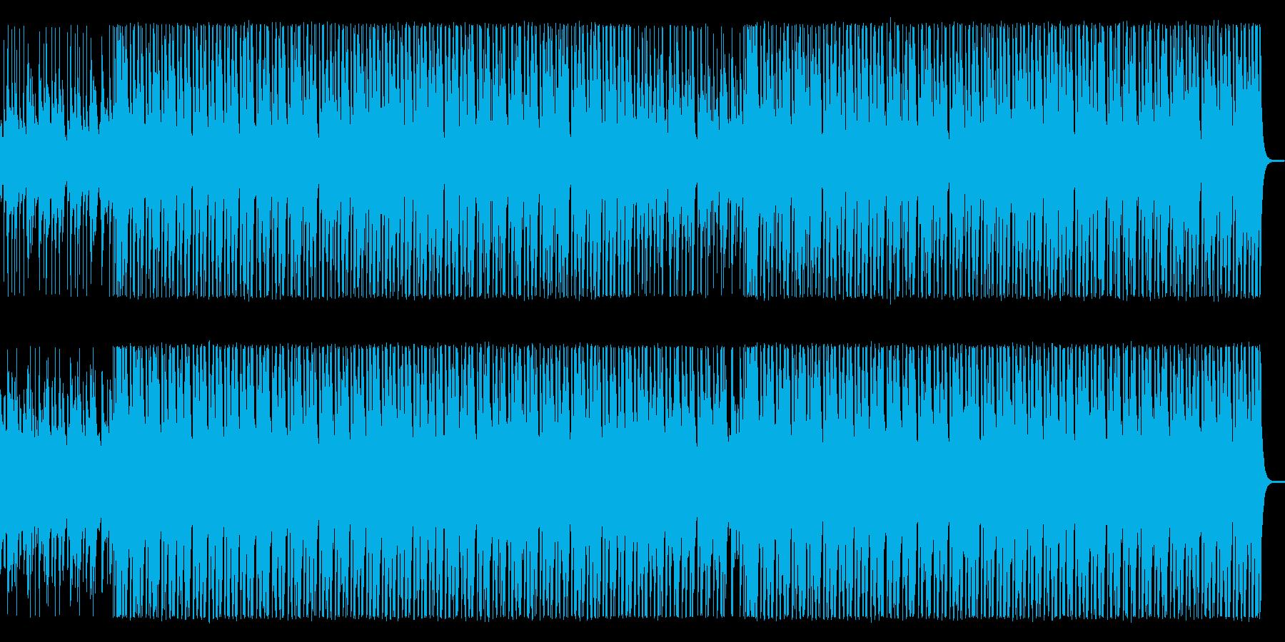 木琴とウクレレの軽快なアコースティックの再生済みの波形