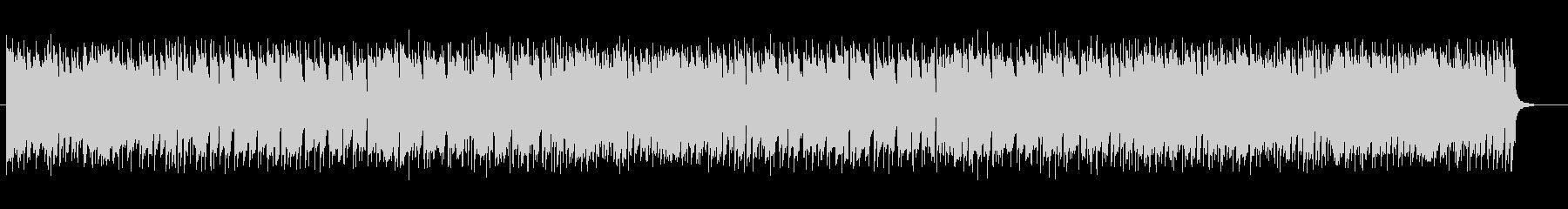 リズミカルなピアノのメロディのポップスの未再生の波形