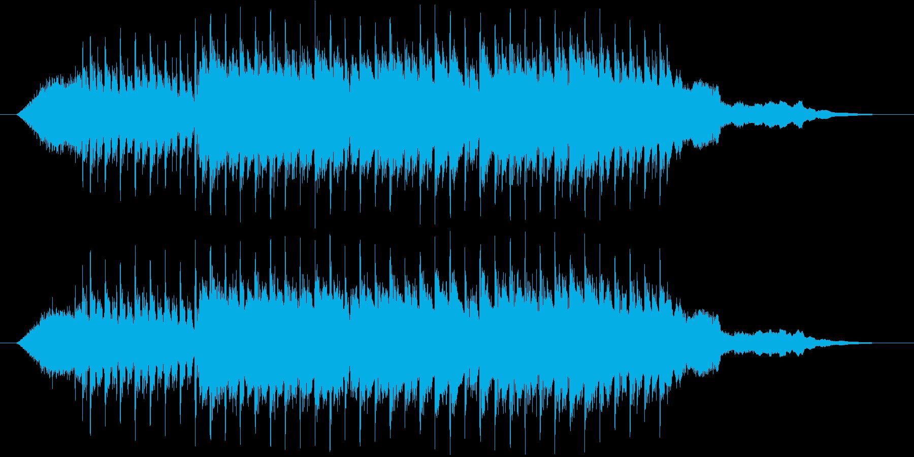【シンセ】爽やか ラジオ的【ピコピコ】の再生済みの波形