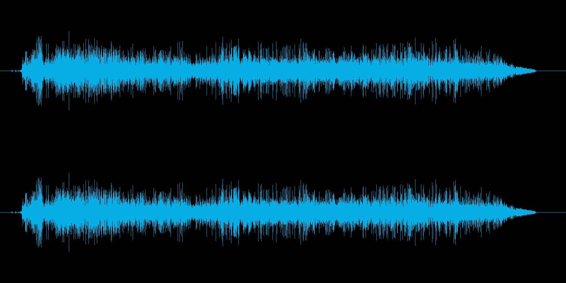 叫び声(う゛え゛え゛え゛え゛)の再生済みの波形