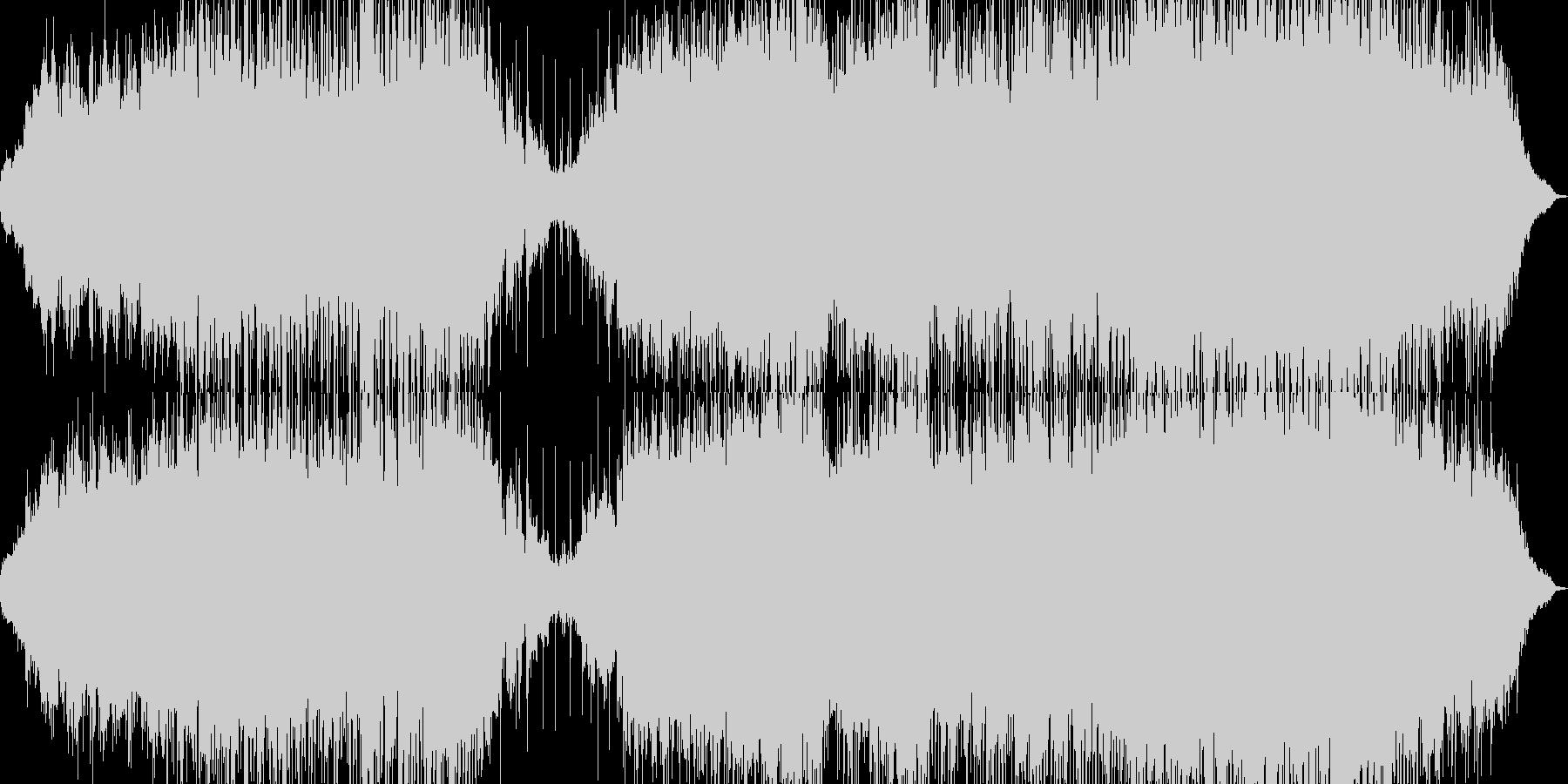 潮風、エメラルドの海、チルアウト系ハウスの未再生の波形
