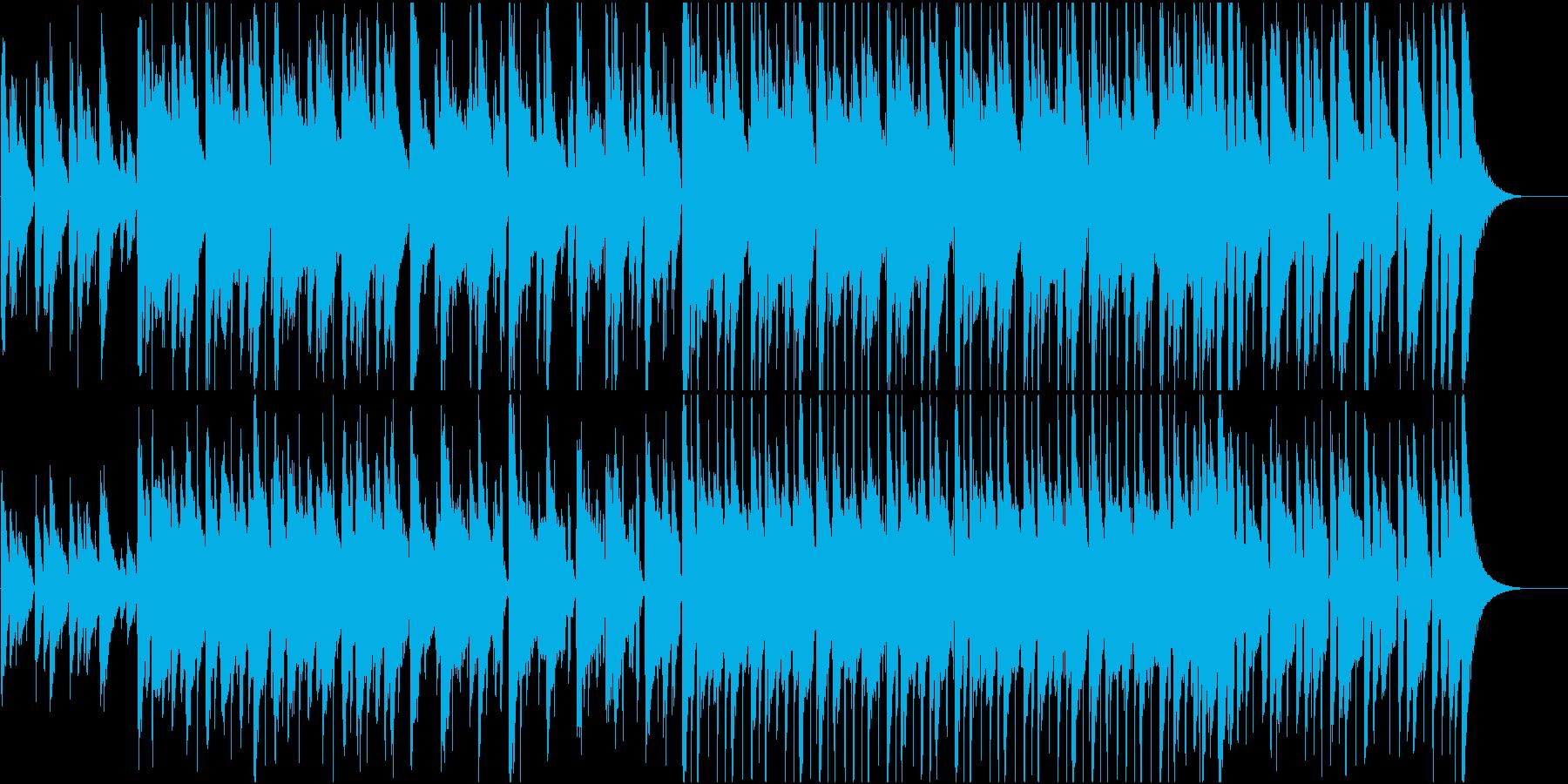 カフェで流れているようなJazz風の再生済みの波形