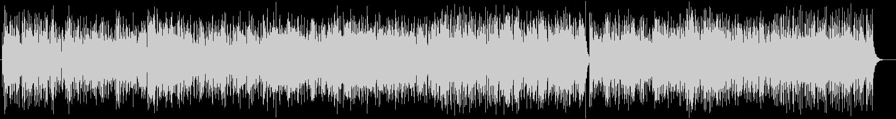明るいトロピカルラテン系ピアノサウンドの未再生の波形