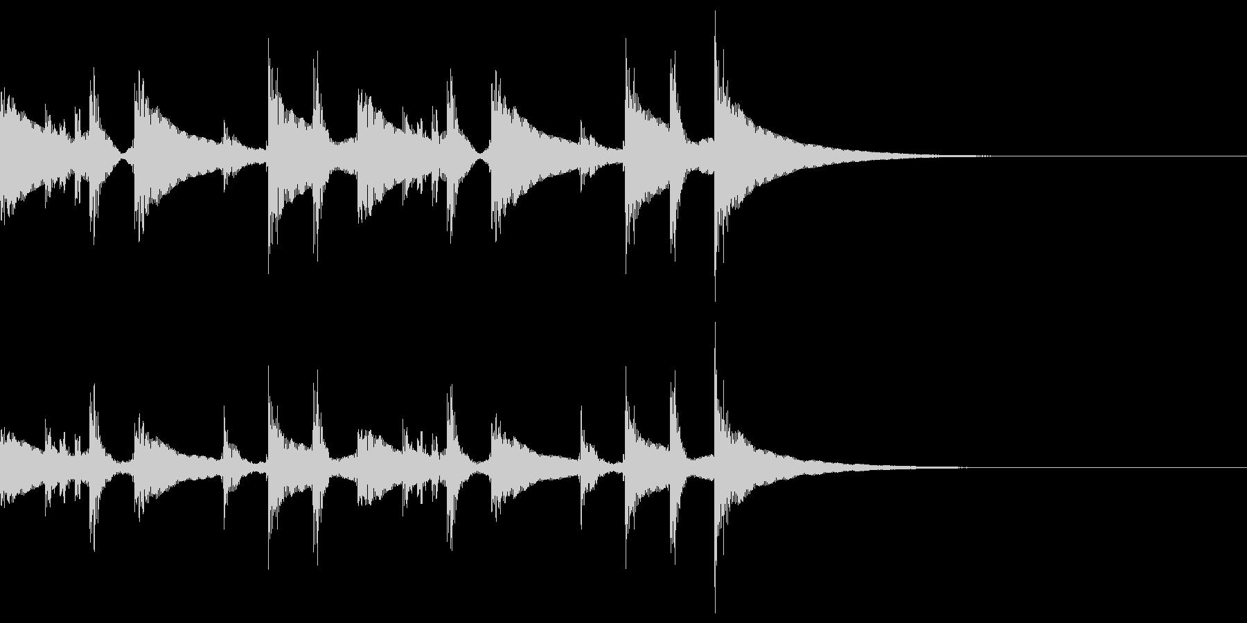 コンガ ボンゴ リフ4 キューバの未再生の波形