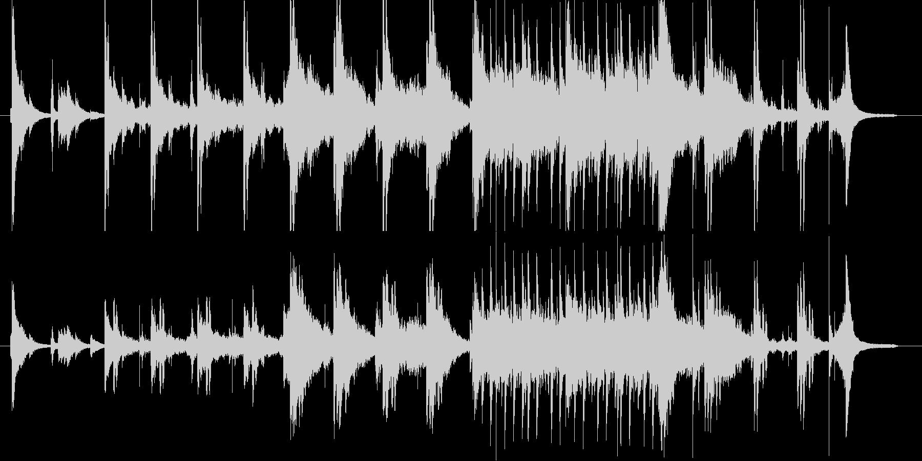 不思議な雰囲気の幻想曲の未再生の波形