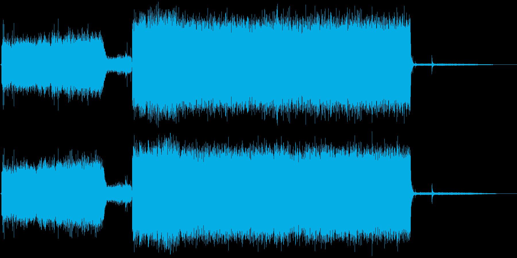 【生録音】インスタントコーヒーマシン01の再生済みの波形