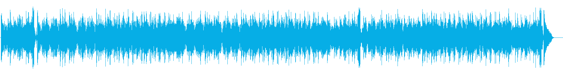 シックでエレガントなフュージョンの再生済みの波形