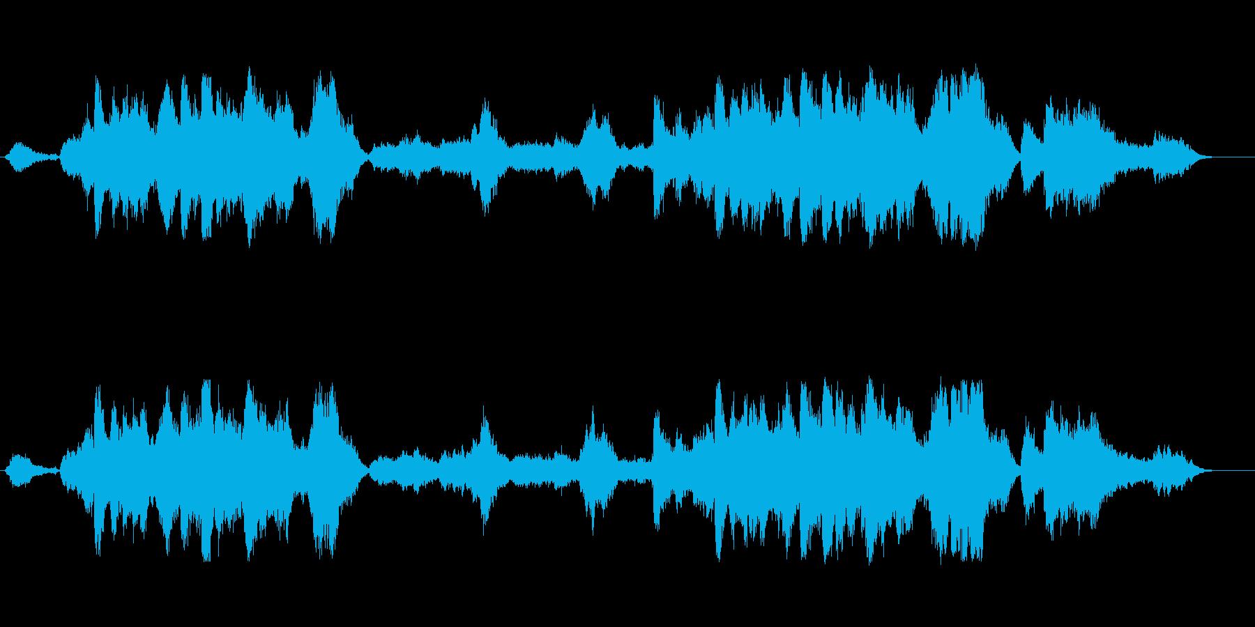 壮大な迫力ある山頂音楽! 映画に!突き…の再生済みの波形