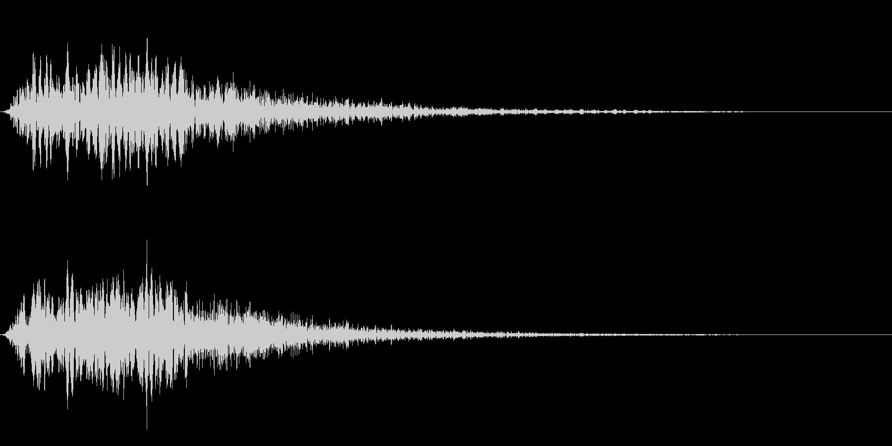 ピヨーオン(ダイアログ閉じる_01)の未再生の波形