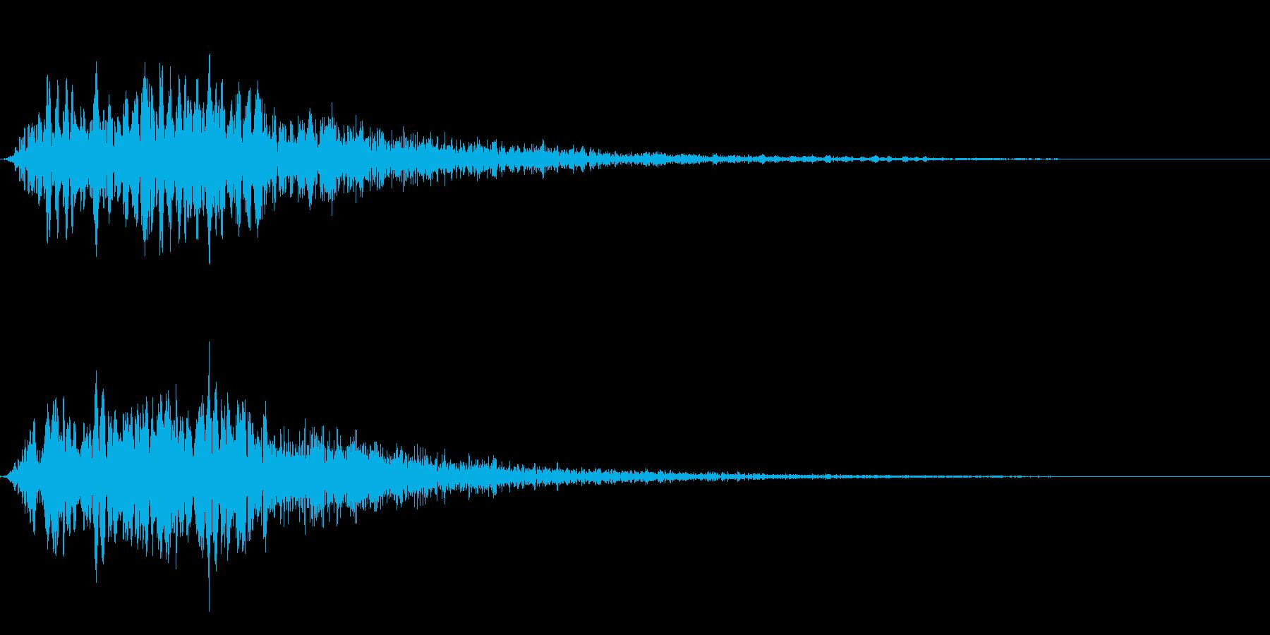 ピヨーオン(ダイアログ閉じる_01)の再生済みの波形