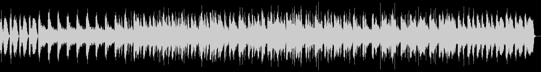 ピアノと波の音のヒーリングの未再生の波形