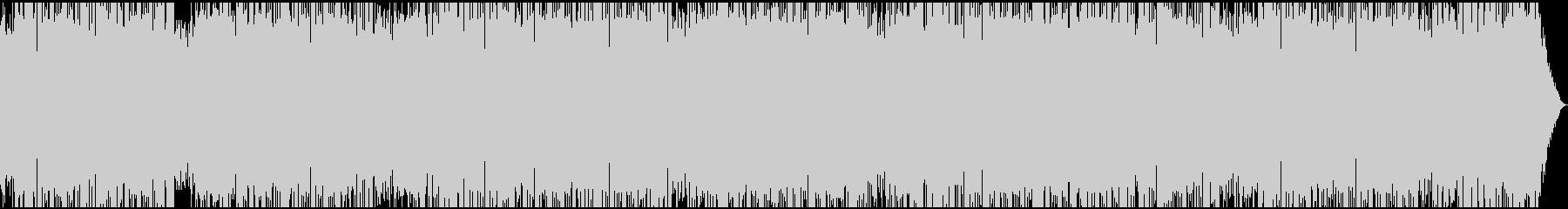 オープニング向き、軽快なBGM(ロング)の未再生の波形
