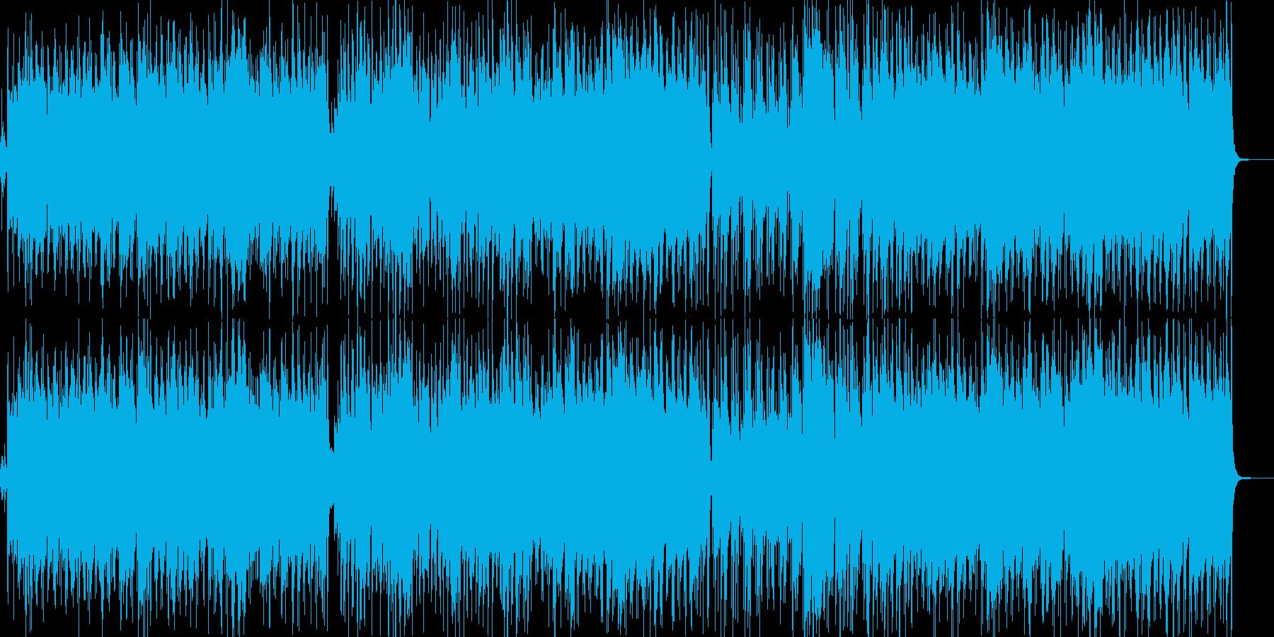 ボサノバ/エレピ/ナイロンギター/カフェの再生済みの波形
