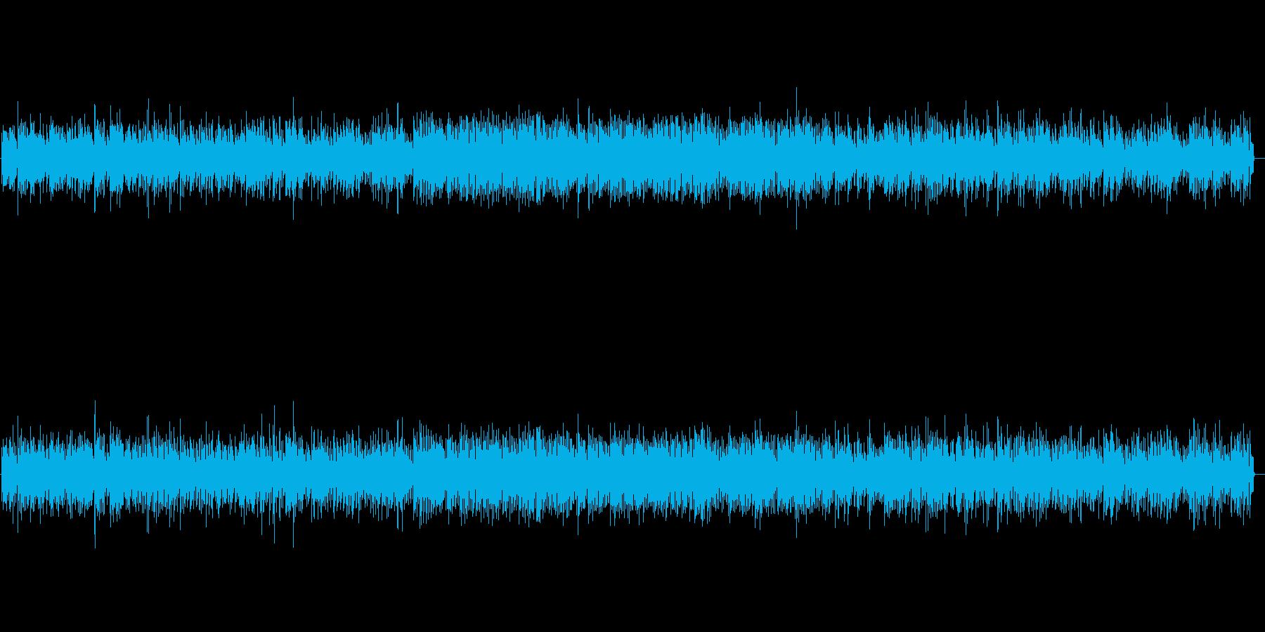 リズミカルなビブラフォンの軽やかな音色の再生済みの波形
