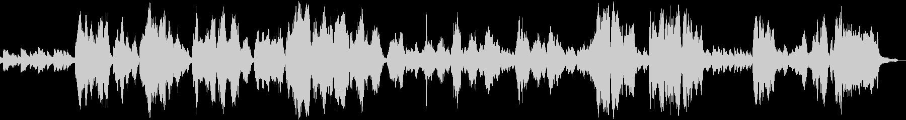 アヴェマリア 癒しのクラシック声楽曲の未再生の波形